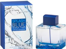 Colonias baratas. Splash-Blue-Seduction-para hombre Antonio Banderas