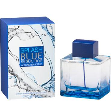 Colonias baratas. Splash-Blue-Seduction-para hombre Antonio Banderas
